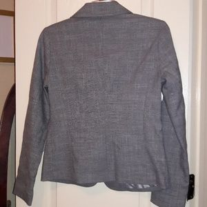 212 Collection Jackets & Coats - 212 Collection Smart Silver Grey Blazer